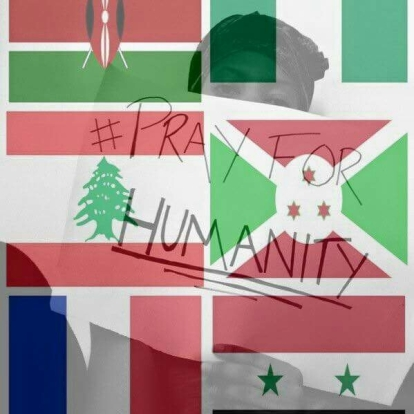 Pray for humainty